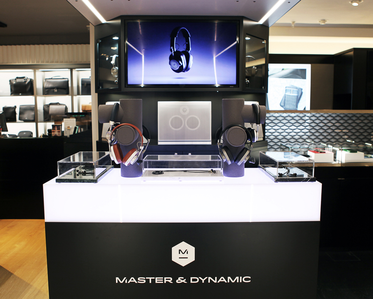 Master & Dynamic: Harrods Pop-Up