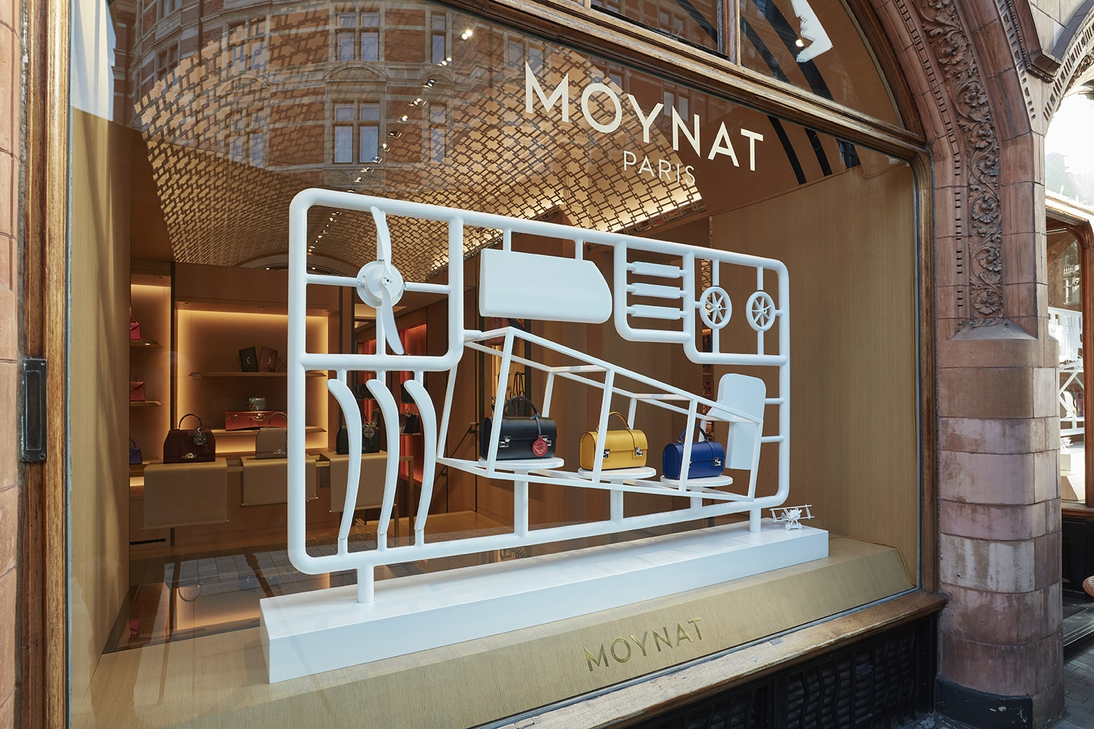 Moynat: Mount Street & Selfridges, London