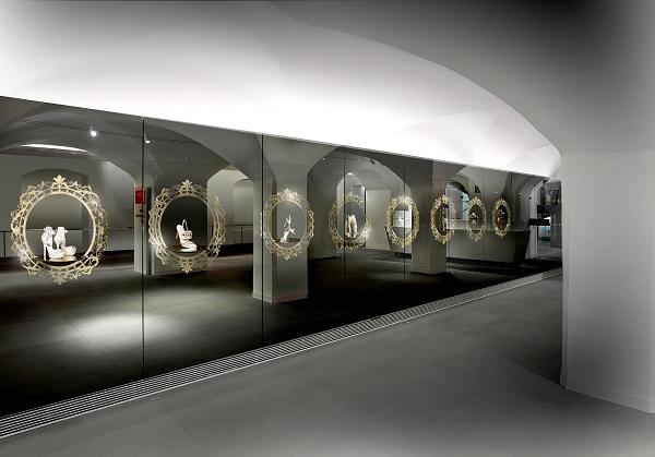Retail interior design companies swarovski case study for Interior design innsbruck
