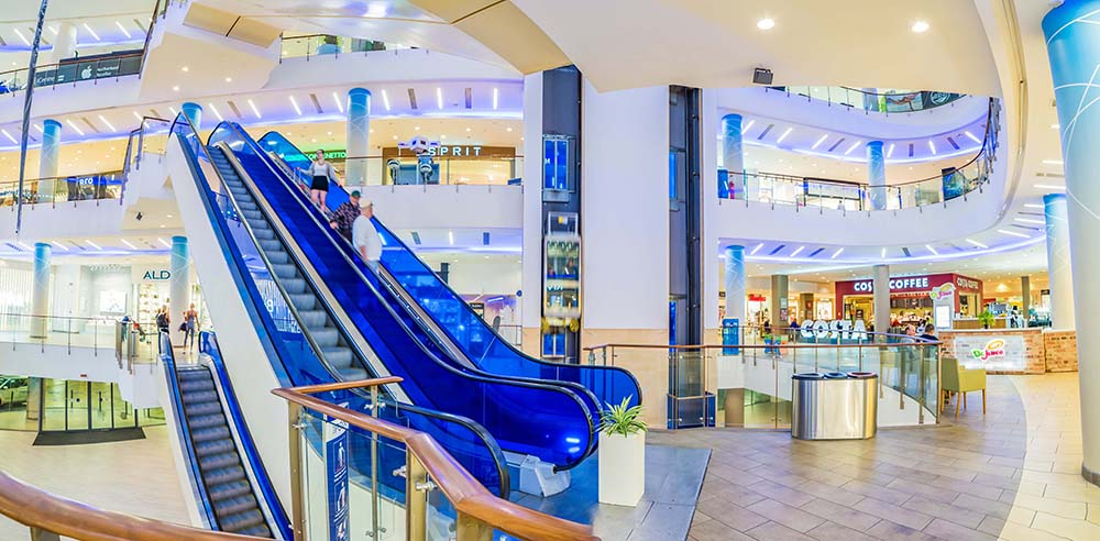 The Point Shopping Mall: Interior Re-brand, Malta