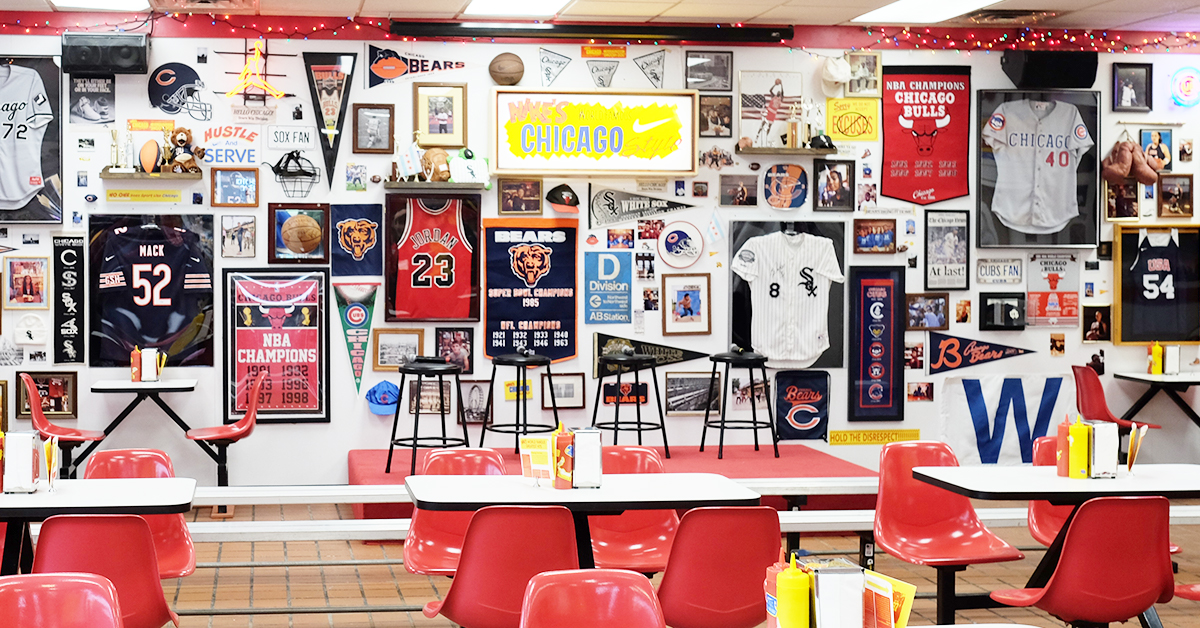 Nike Chicago diner pop-up